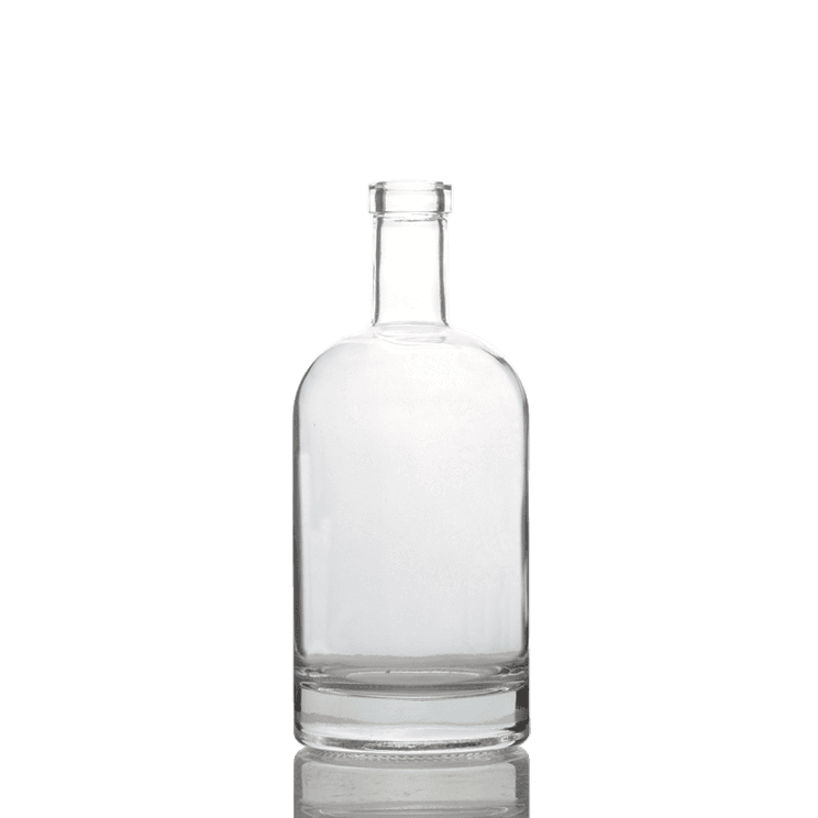 750 ml Clear Glass Aspect Liquor Bottles Featured Image