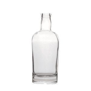 700ml Clear Fancy Brandy Glass Bottle