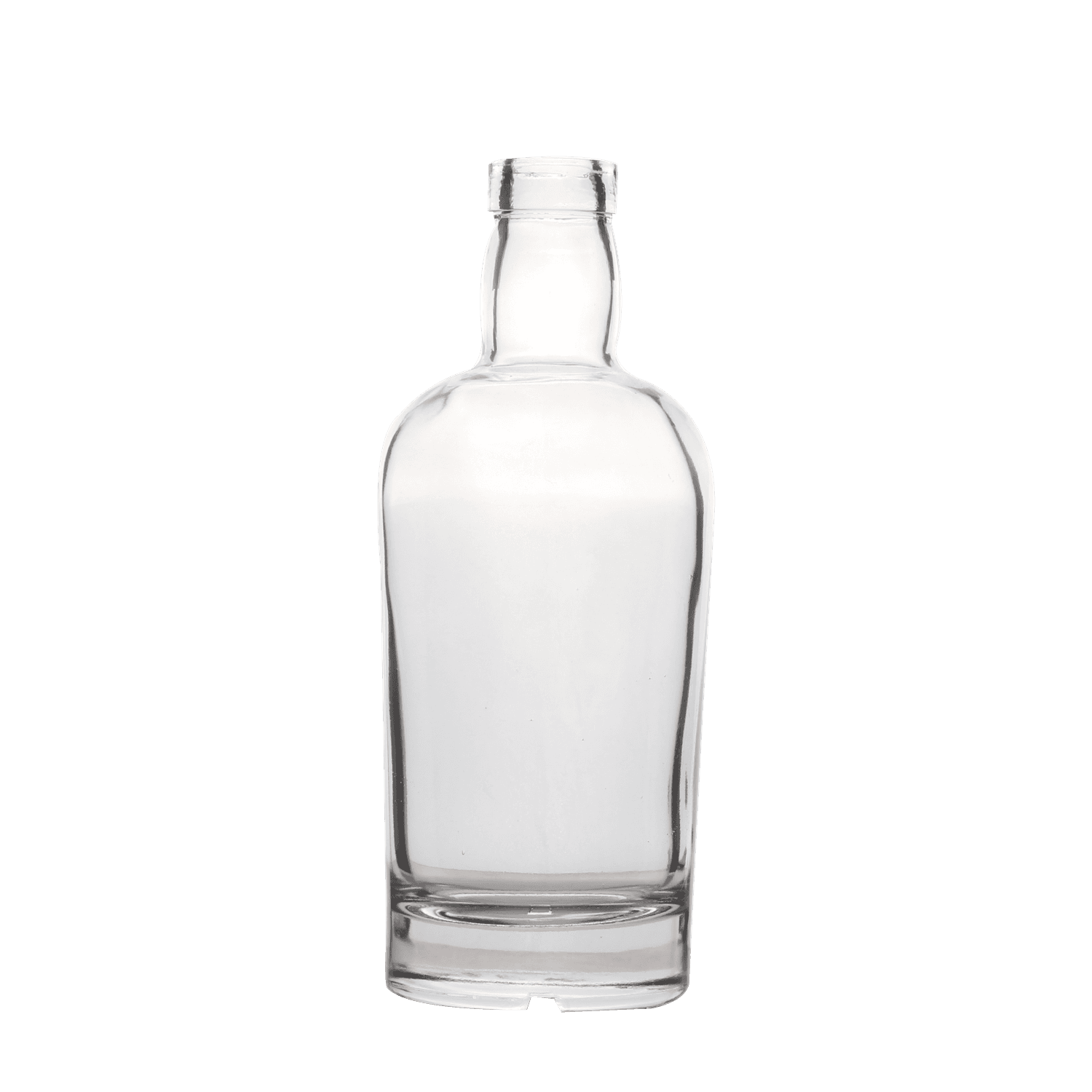 700ml Clear Fancy Brandy Glass Bottle Featured Image