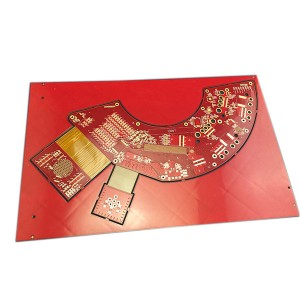 12 layer rigid flex PCB Rogers & Dupont Material
