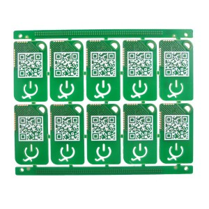 2 layer circuit board plated half hole PCB for Sensor product