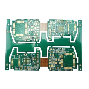 4 layer rigid flex circuit board for automotive