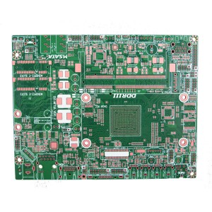 8 layer circuit board OSP finish for embedded PC