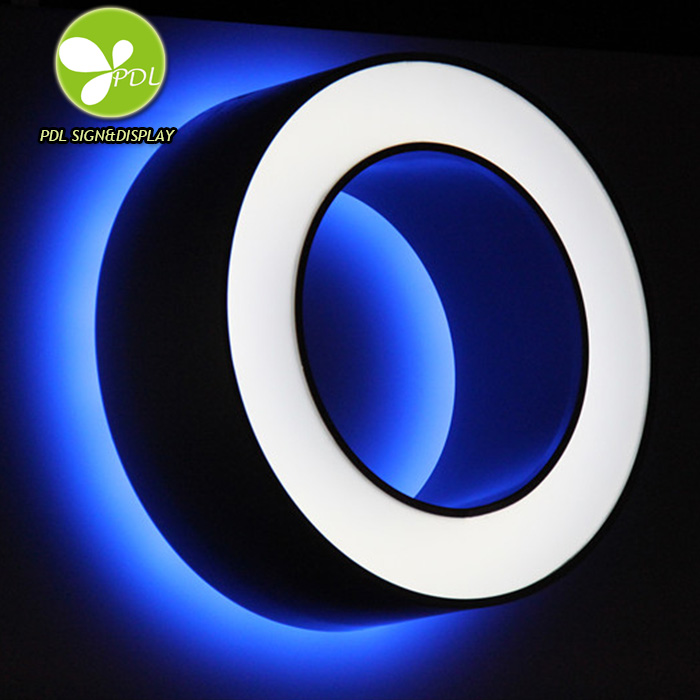 Custom 3d Letter Light Business Outdoor Advertising Channel LED Sign