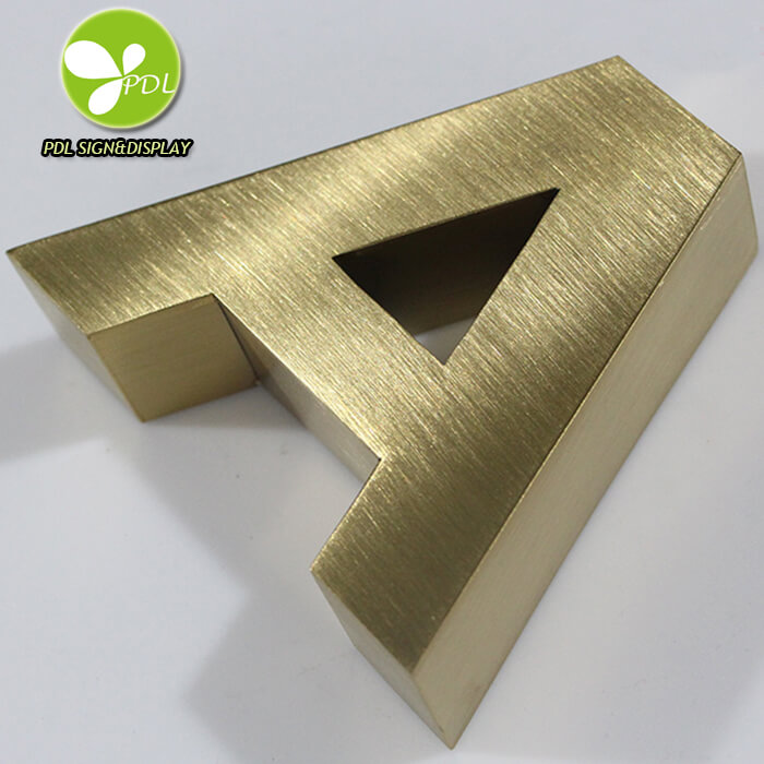 Stainless Steel 3d Signs Letter Advertising Metal Sign Aluminum Channel Letter for Shop Signs