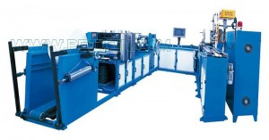 Helautomatiska papperslantor Packaging Production Line