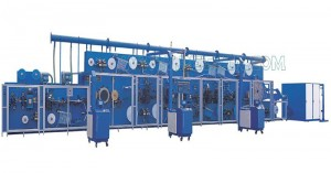 Professional China Hygienic Machine - Full-servo Control Horizonal Panty Liner Production Line – Peixin