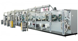 Full-servo Control Protection-kutayikira Sanitary Napkin Production Line
