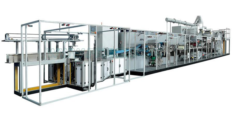 Chithunzithunzi cha Full-servo Control Pet Mattress Production Line