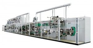 OEM/ODM Manufacturer Baby Diapers Machines Production Line - Full Servo Control Pull-ups Baby Panty Production Line – Peixin