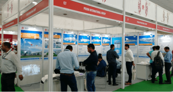 Peixin participou no Non Woven Tech Asia 2019 en Delhi, India