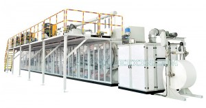 Full-servo Full-function Elastic Ear Baby Diaper Production Line (T foliga)