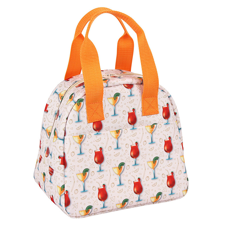 Summer Colorful Insulated Ice Lunch Bag for kids Featured Image