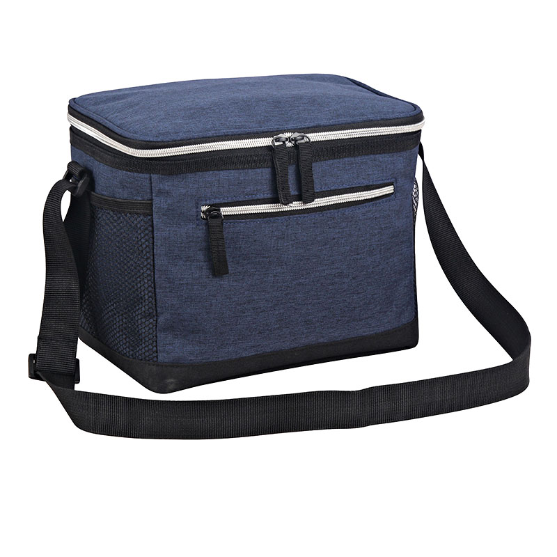 Insulated Portable Oxford Fabric Cooler Bag With Adjustable Shoulder Strap Featured Image