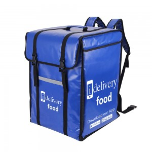 Custom Big waterproof thermal insulated food delivery backpack for Restaurants