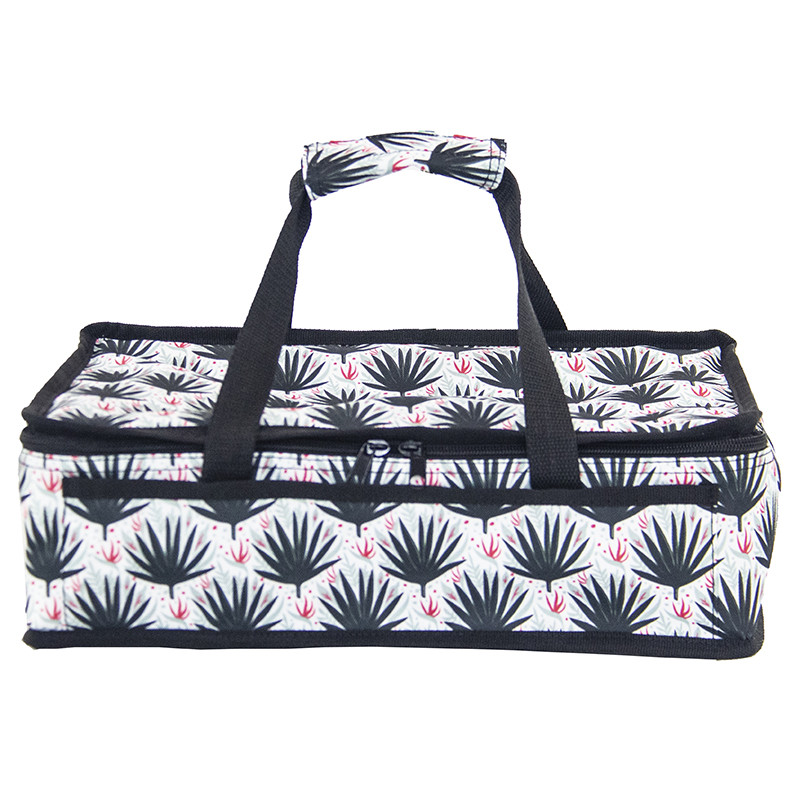 Polyester fabric casserole carrier bag with double handle Featured Image