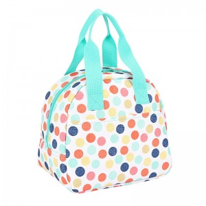 Summer Colorful Insulated Ice Lunch Bag for kids