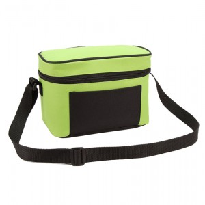 Promotion 6 can cooler bag in solid color