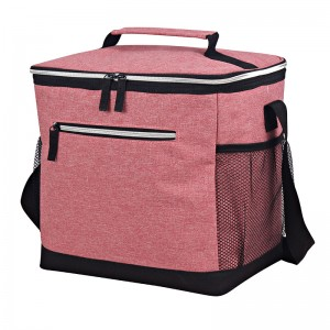Matt cationic polyester Insulated cooler bag middle size