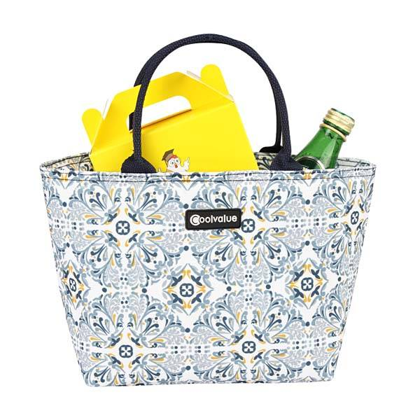 Polyester Lunch Bag With Fashion Pattern