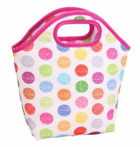 Polyester lunch bag for kids back to school