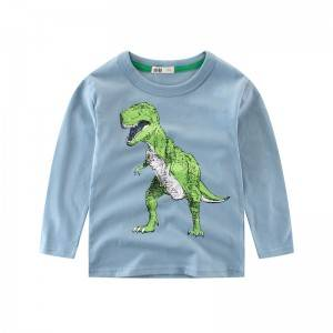 Hot Sell Long Sleeve Boy T-Shirt PY-TC004