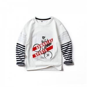 12-16 Years Old Long Sleeve Boy T-Shirt PY-TC003