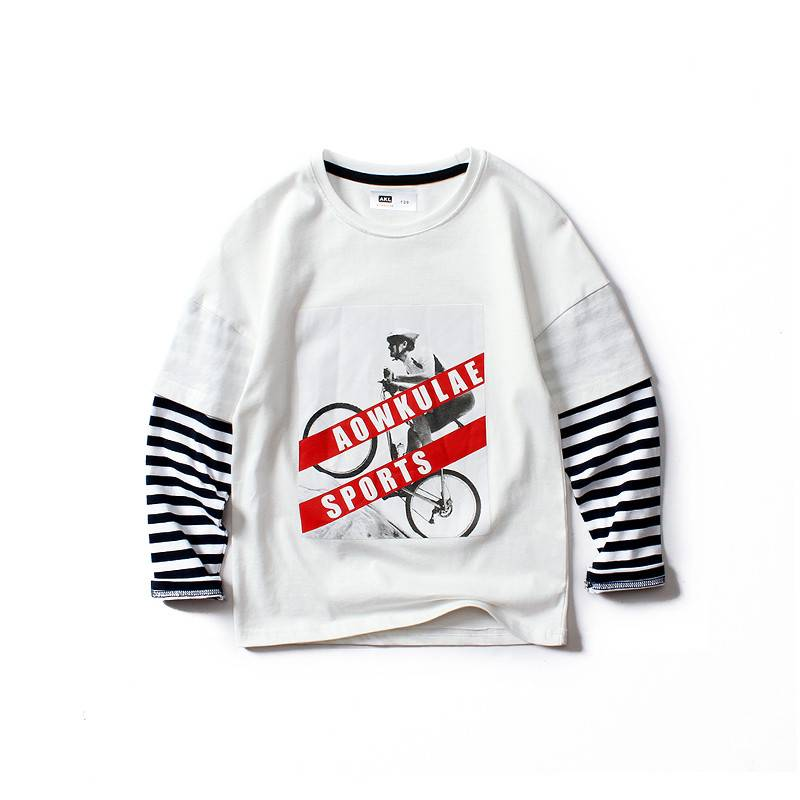 12-16 Years Old Long Sleeve Boy T-Shirt PY-TC003 Featured Image