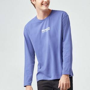 Casual Cotton Long Sleeve Men T-Shirt PY-NC005
