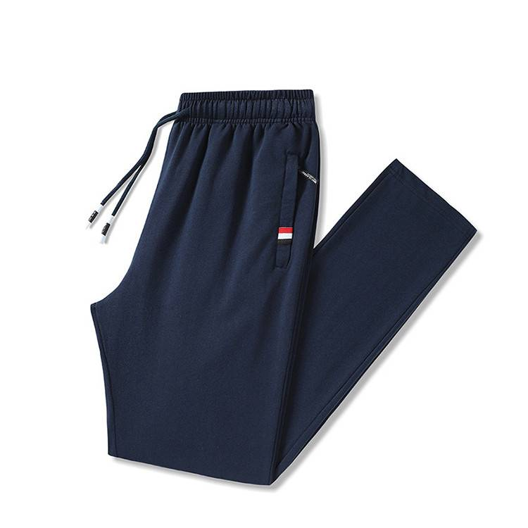 Customizable LOGO Stretch Cotton Men Sports Pants PY-NK005 Featured Image