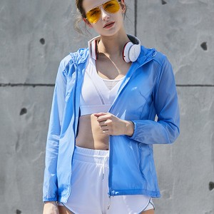 Beach and seaside UV protection summer sun protection clothing outdoor jacket PY-WFS001
