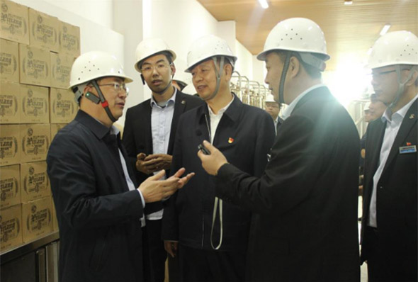 Warmly welcome Xie Yu'an, Vice Chairman of Henan CPPCC to visit our company for research and guidance