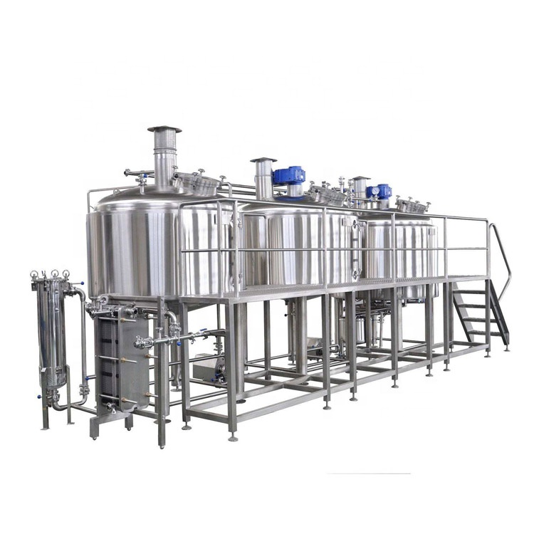 beer brewing equipment conical beer fermenter 2000L turkey project of brewery home beer brewing equipment