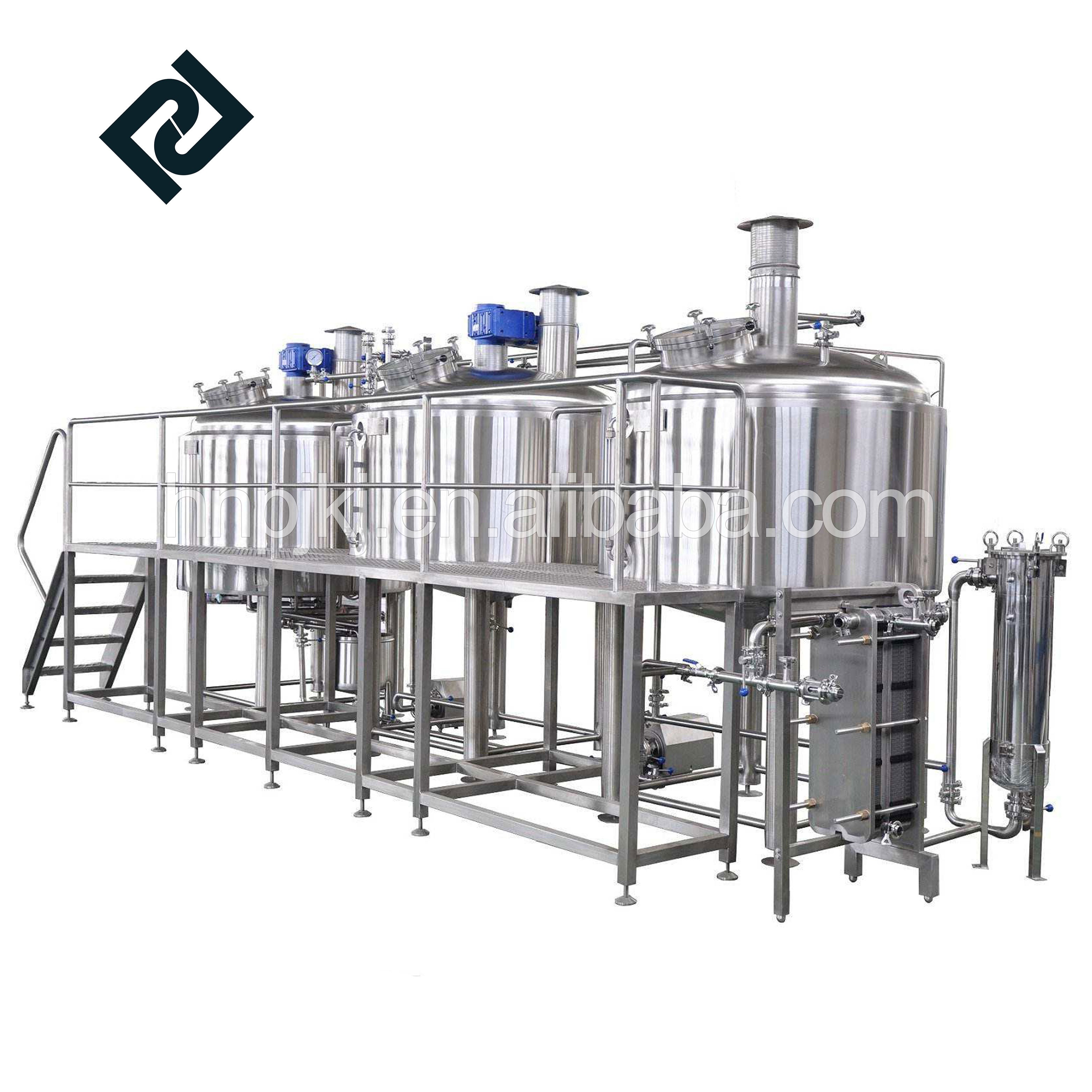restaurant mini beer brewery brewing equipment craft brew making manufacturing fermenter brewing equipment