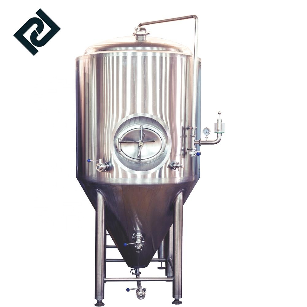 50L 100L 200L 300L 400L 500L 1000L stainless steel jacketed conical beer fermenter tank