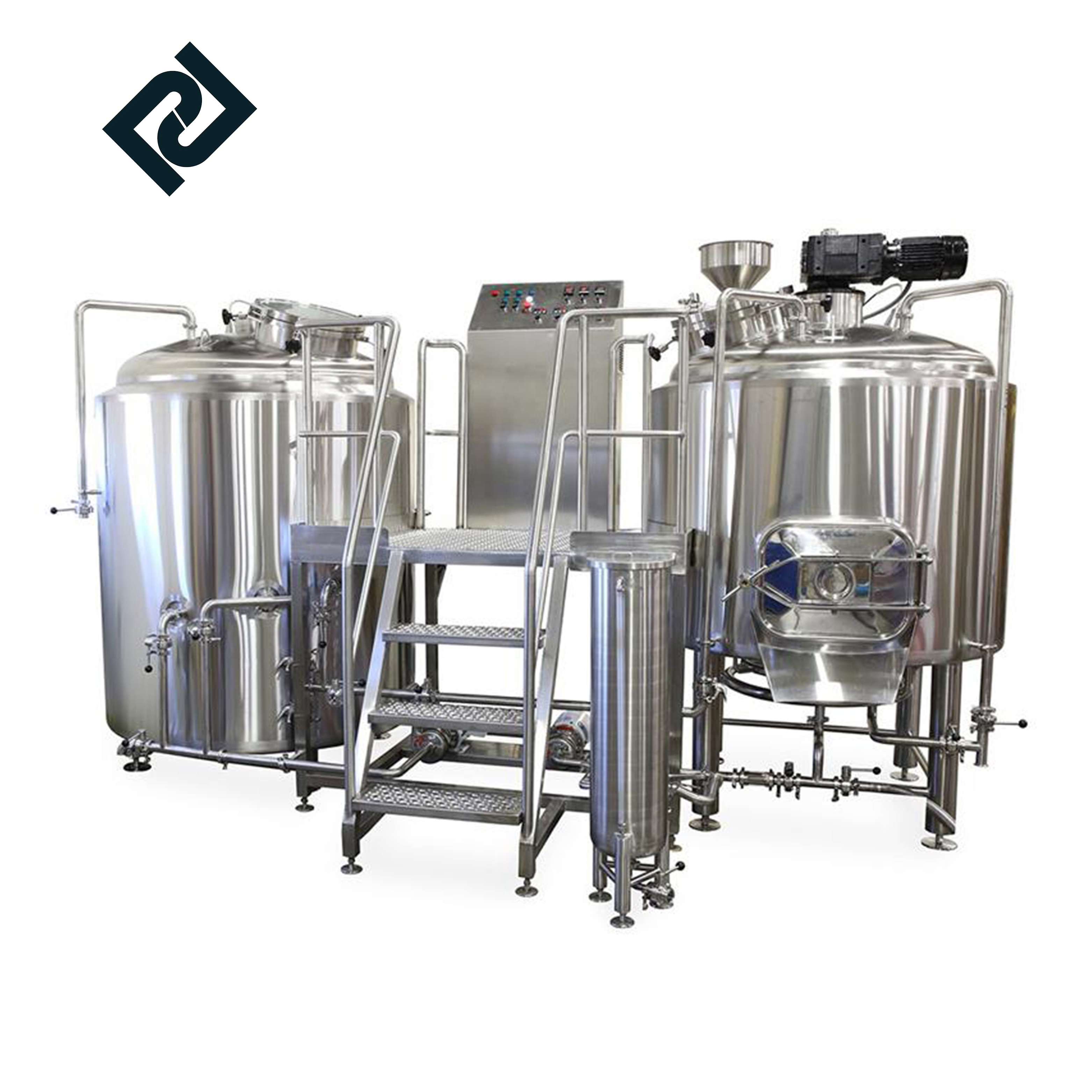 Automatic microbrewery turnkey beer production system1000l beer brewing equipment