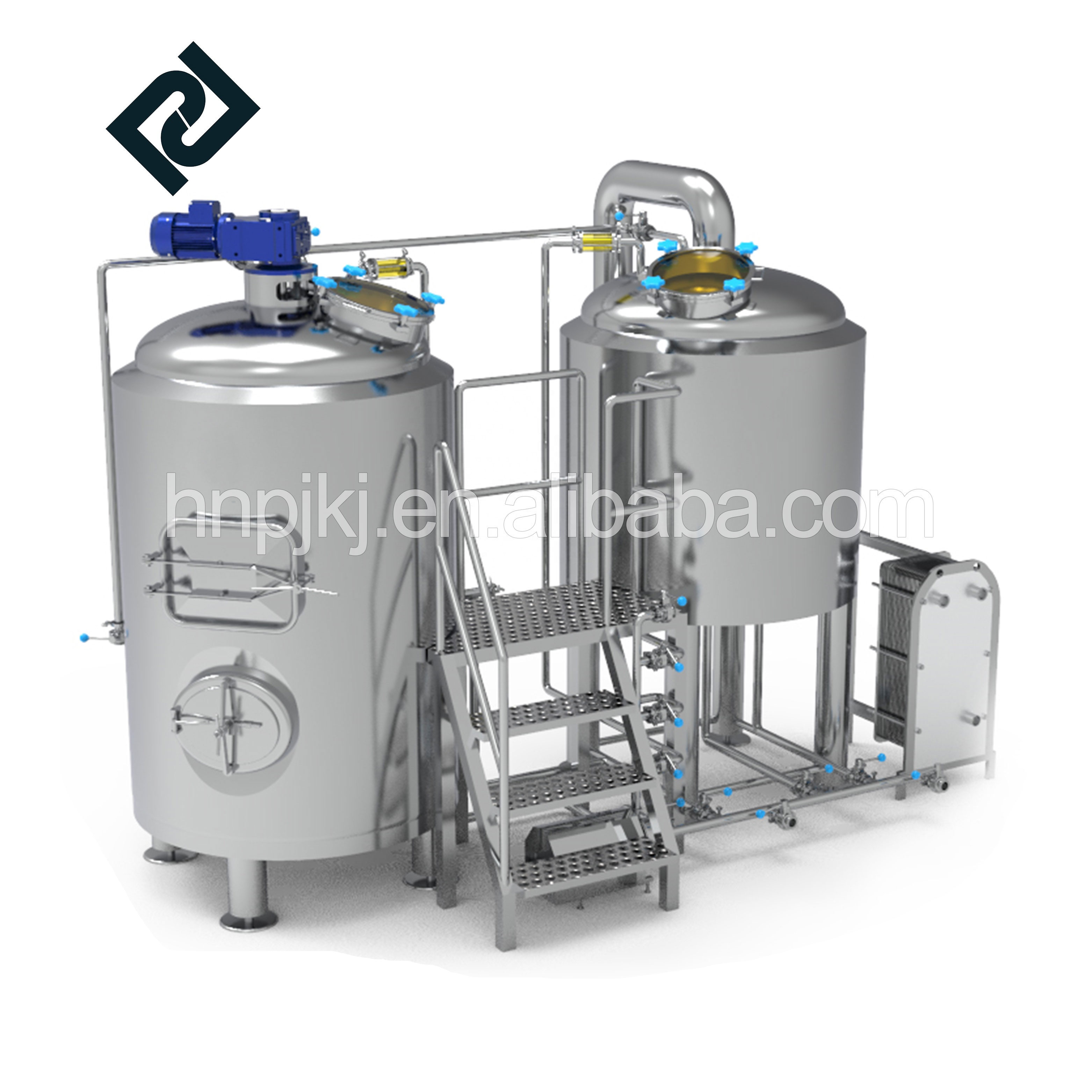 7bbl automatic beer brewing machine beer brewing equipment for pub brewery