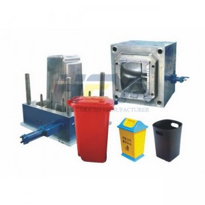 Injection Dustbin Plastic Mould