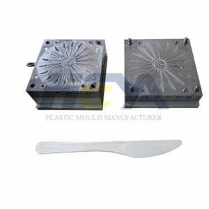 Plastic Injection Spoon Fork Knife Tableware Mould