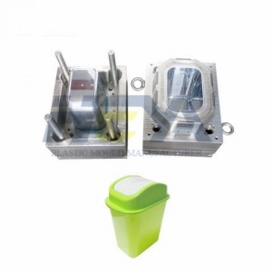 Indoor Kitchen Calssified Injection Plastic Trash Can Mould