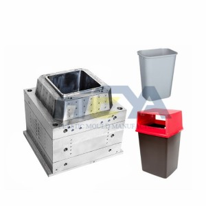 Daily Necessities Plastic Dustbin Mould