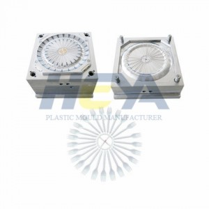 Plastic Injection Fork Mould
