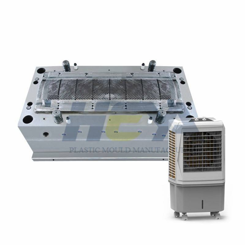 The Design of The Air Cooler Mould Determines The Tendency of Warping