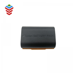 High voltage 7.4V 1800mAh LP-E6 rechargeable li-po battery for police enforcement recorder