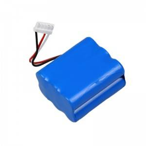 Deep cycle high quality 11.1v 5200mAh battery for CCTV camera/fusion splicer/wireless wifi /solar light