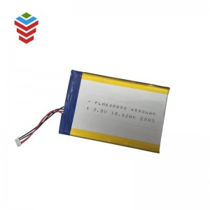 Li-po Battery 605890 3.8V 4900mAh Battery Cell for Bluetooth Speaker, Toys, Power Bank