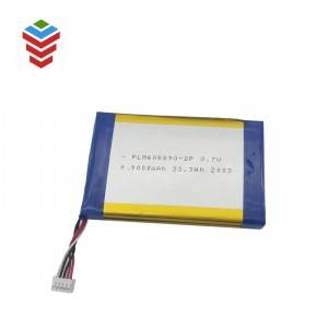 Li-po Battery 605890-2P-2P 3.7V 9000mAh Battery Cell for Bluetooth Speaker, Toys, Power Bank
