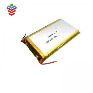 Rechargeable Li-po Battery 1260100 3.7V 10000mAh Battery Cell for Bluetooth Speaker, Toys, Power Bank