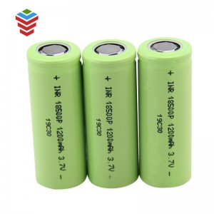 CB UL Approval 18500 1500mAh 3.7V lithium ion battery cell for led light