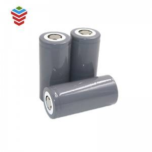 Rechargeable Cylindrical LiFePO4 Battery 32650 3.2V 6Ah Battery Cell for Bluetooth Speaker, Toys,Electric Torch, E-bike